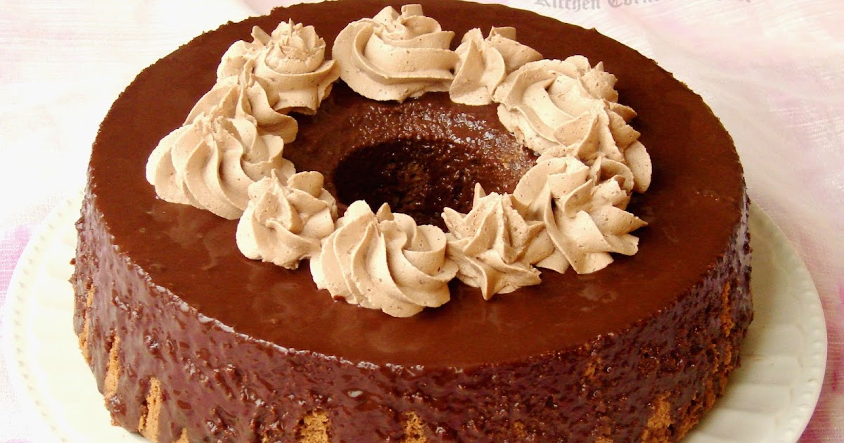 Chocolate Chiffon Cake Paris Baguette