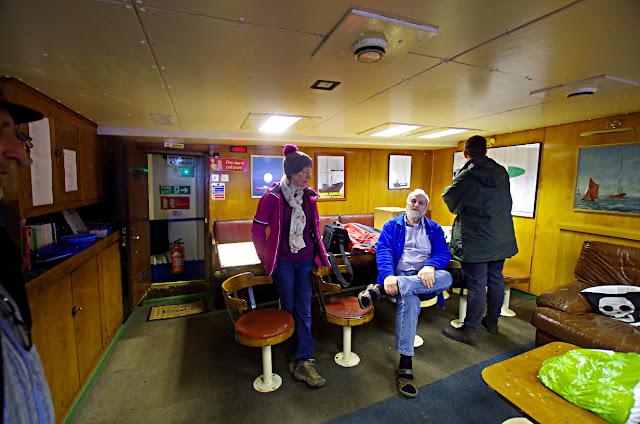 Radio Caroline Ross Revenge mess room boat trips