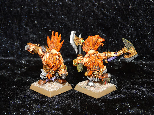 Dwarf Beserkers finished !
