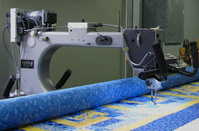 Machinequilter King Tut At The Quilt Room