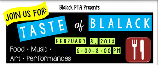 Taste of Blalack - See you Thursday!