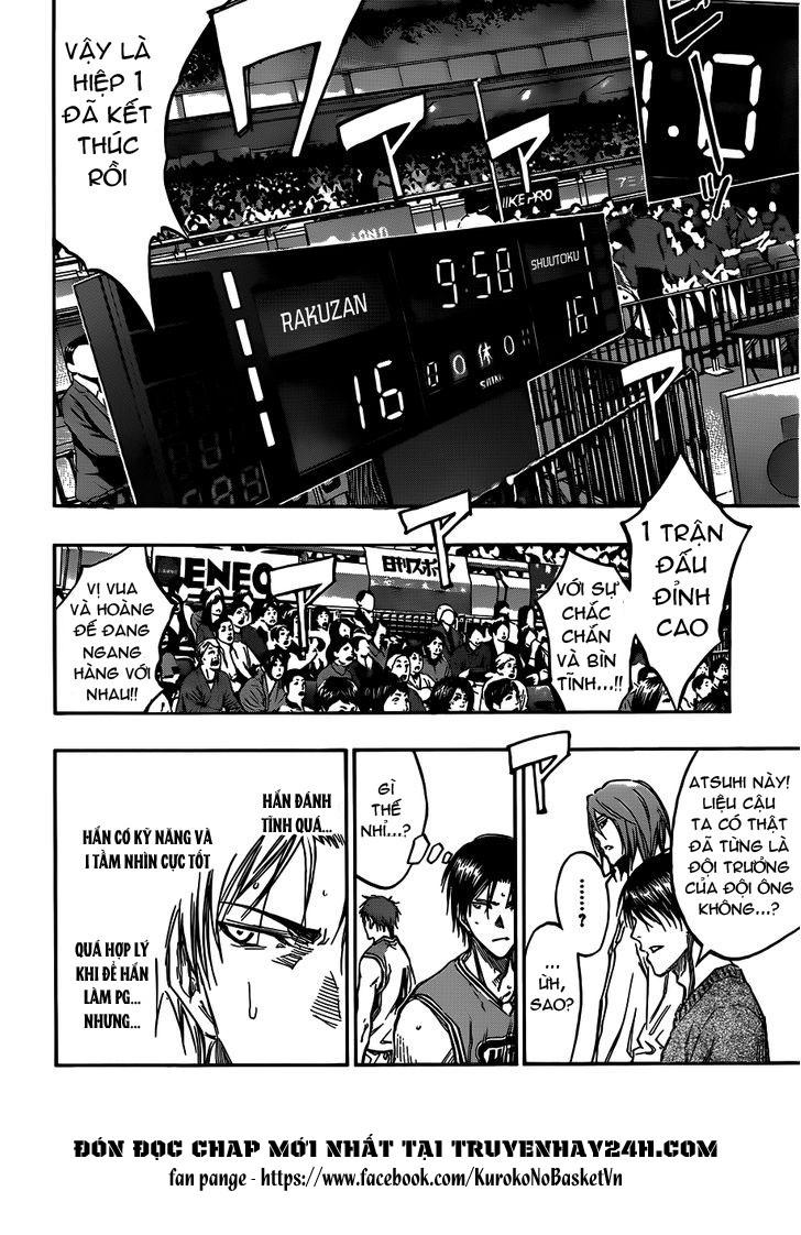 Kuroko No Basket chap 176 trang 8