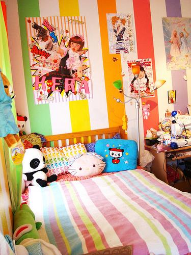 Momo´s kawaii corner: Kawaii rooms (≧∇≦)/