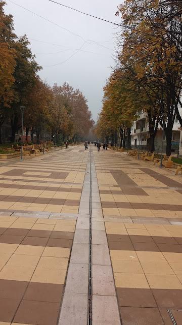 Pedestrian, Walkway, Rakovski Street, Opens Yambol,