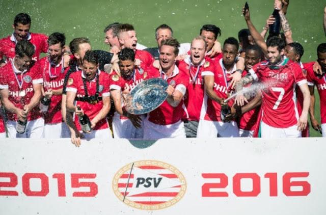 PSV é campeão da Eredivisie 2015/16