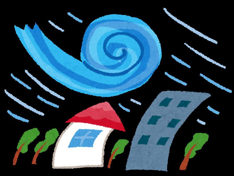 「台風 イラスト」の画像検索結果