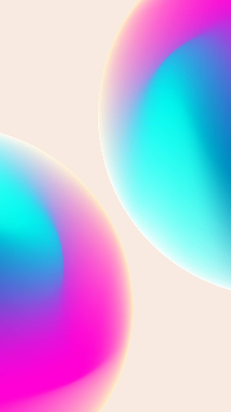 Pink bubble wallpaper