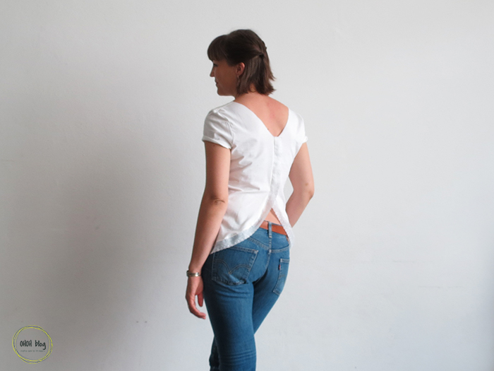 How to make an open back t-shirt
