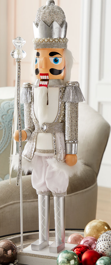 Crystal Christmas Nutcracker
