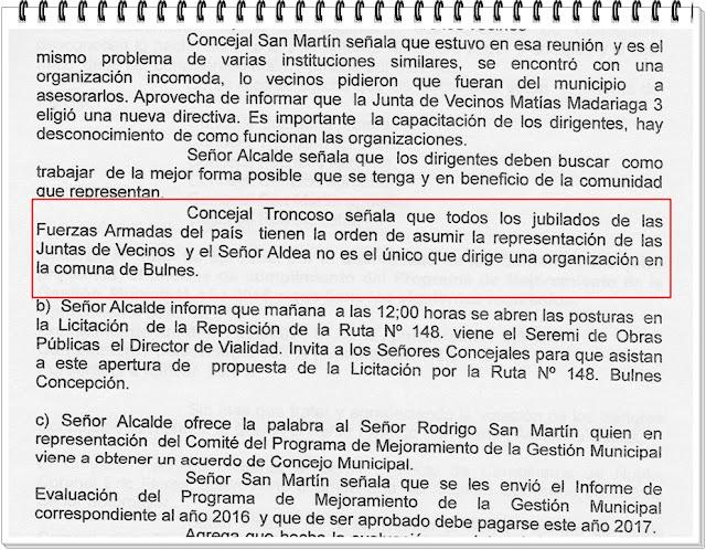 El Vecinal: BULNES (Chile), martes 4 de julio de 2017