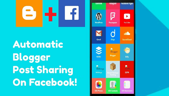 blogger post to facebook automatically  By IFTTT, Blogger to facebook , youtube to fb