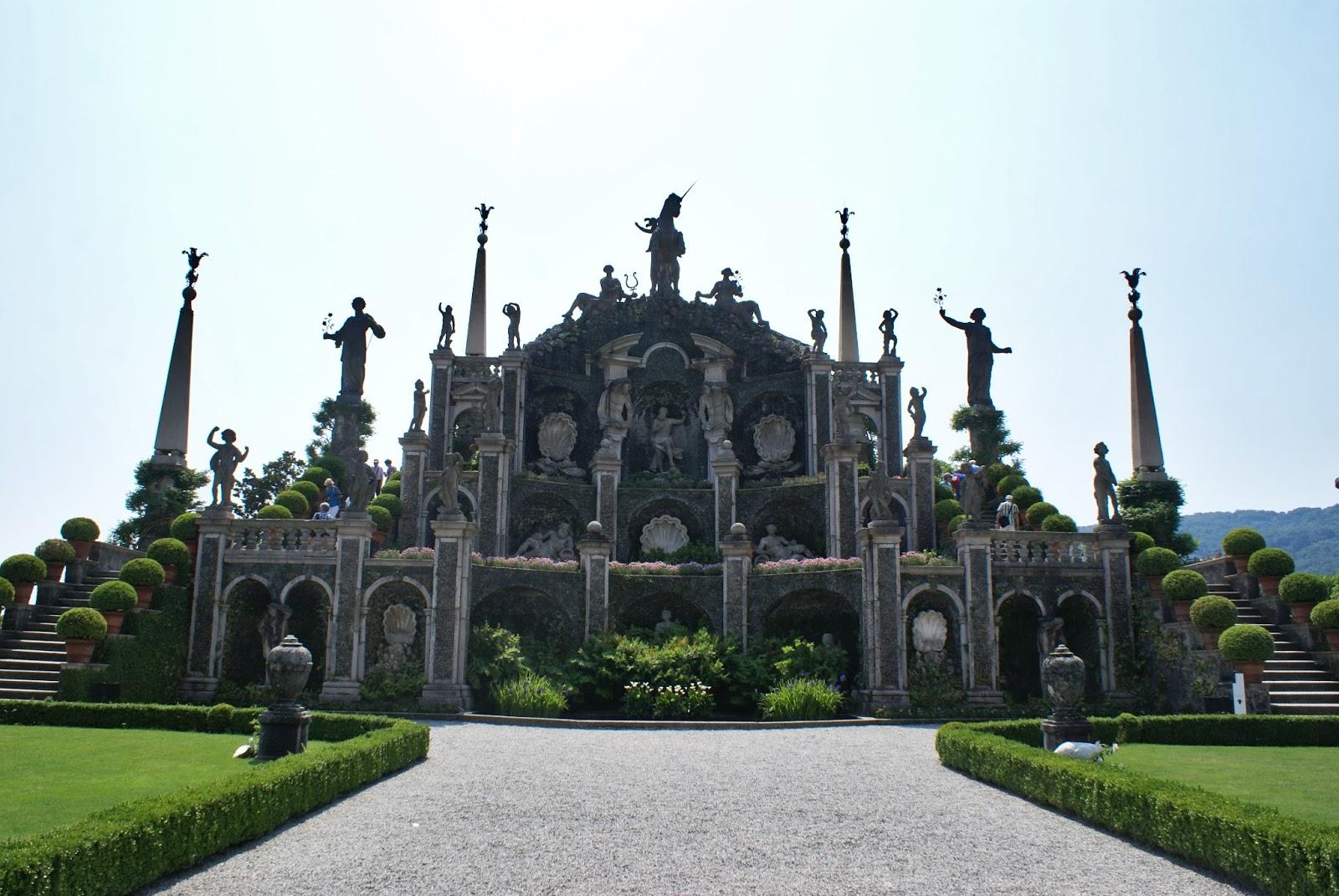 garden giardino isole borromee borromées isola bella lago maggiore piemonte italy teatro massimo