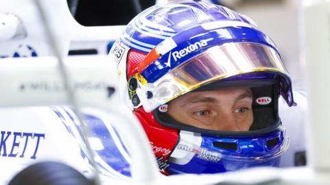 Williams se diz surpresa com o teste de Sirotkin