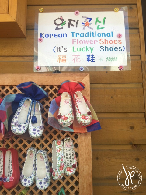 Flower shoes_Gamcheon Culture Village