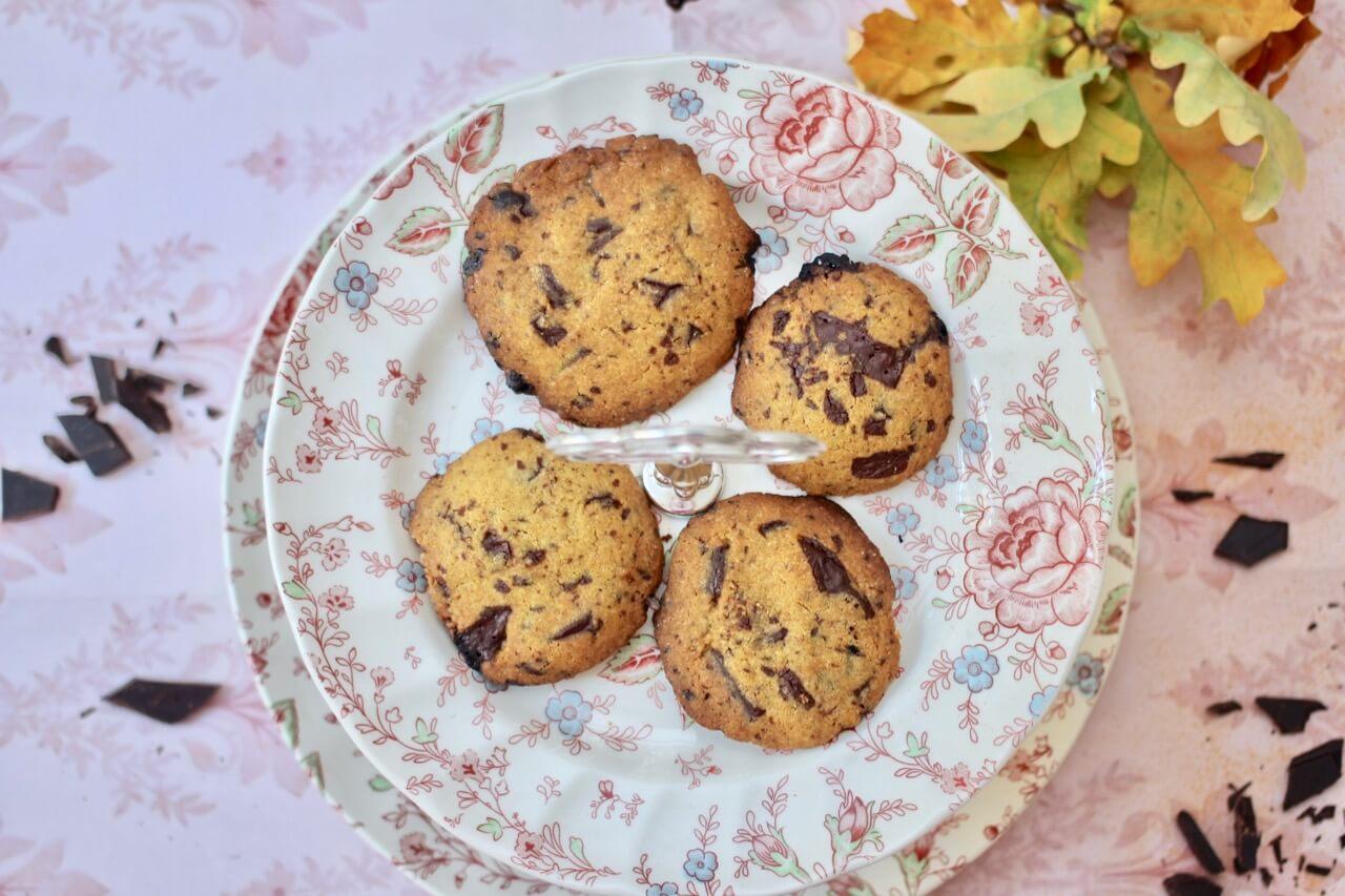 Kurkuma-Schoko-Cookies