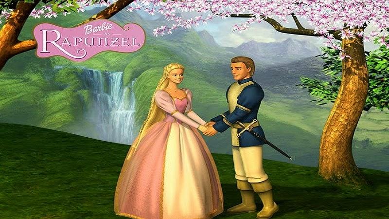 film barbie rapunzel