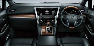 Interior Mewah Pada Toyota Alphard Tipe 3.5 Q