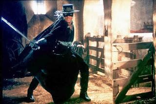 Antonio Banderas in The Mask of Zorro 1998