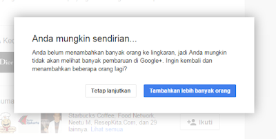 Folower google plus