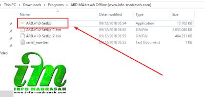 Tutorial Cepat Instal Aplikasi Rapor Digital / ARD Madrasah Offline