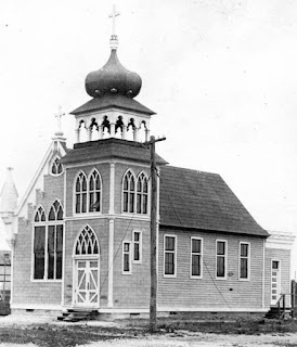 St. John Catholic Church in the 1910s
