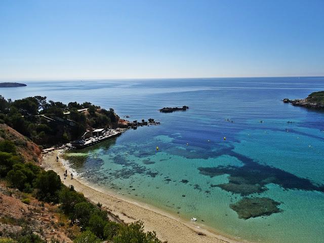 widok na Portal Nous, Majorka, Hiszpania, Baleary