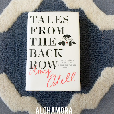 Tales From the Back Row: An Outsider's View From Inside the Fashion Industry by Amy Odell earns 4.5 out of 5 stars in my book review.  Funny , informative, valuable, and incrediibly relatable even for a non fashion individual like me.  Odell is a great author who is witty and entertaining.  Alohamora Open a Book  http://www.alohamoraopenabook.blogspot.com/ adult non-fiction, essays, memoir, help, fashion, nyc, funny, humorous