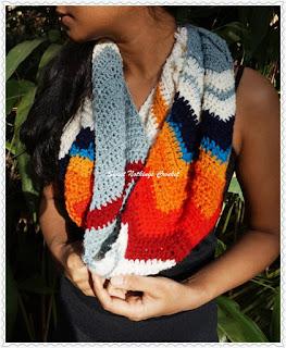 free infinity cowl crochet pattern