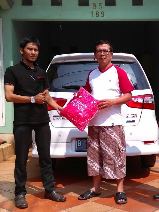 Terimakasih atas kepercayaan Pak Manullang&Klg yg telah membeli Nissan GL HWS melalui media www.touchnissan.com.  Semoga Berkah ya Pak...