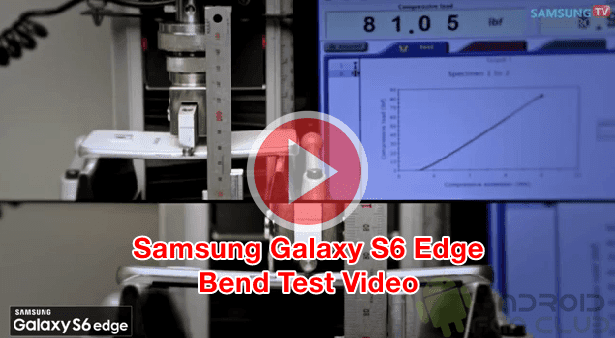 Samsung Galaxy S6 Edge Bend Test Video vs Apple iPhone 6