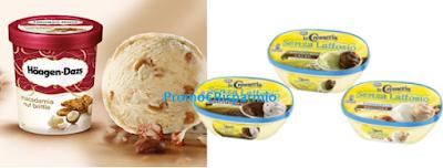 Logo Buoni sconto La Cremeria e gelato Haagen-Dazs