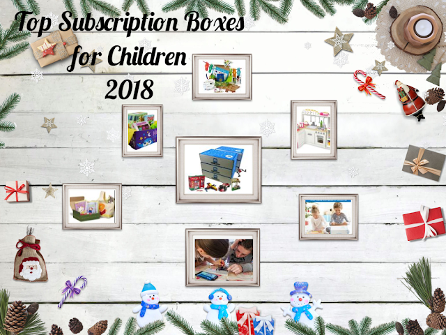 Top Subscription Boxes for Children 2018