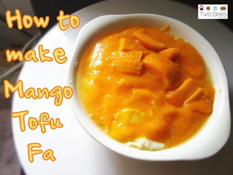 Mango Tofu Fa 芒果豆腐花