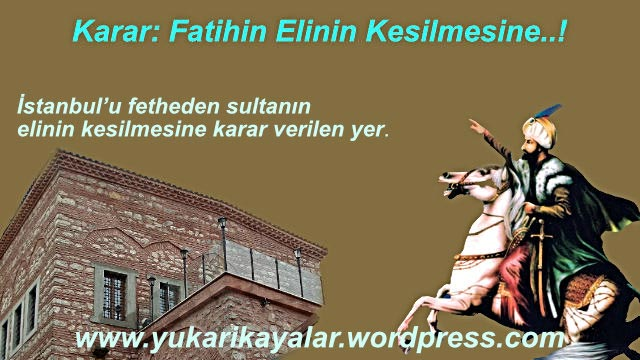 Fatih Sultan Mehmet'le Mimar Başı