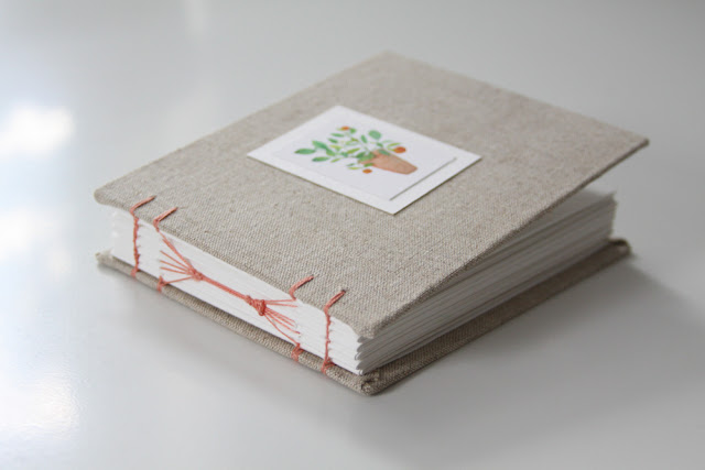 sketchbooks, handmade books, hand bound books, bookbinding, Anne Butera, My Giant Strawberry