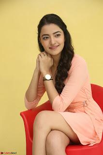Rukshar Mir in a Peachy Deep Neck Short Dress 085.JPG
