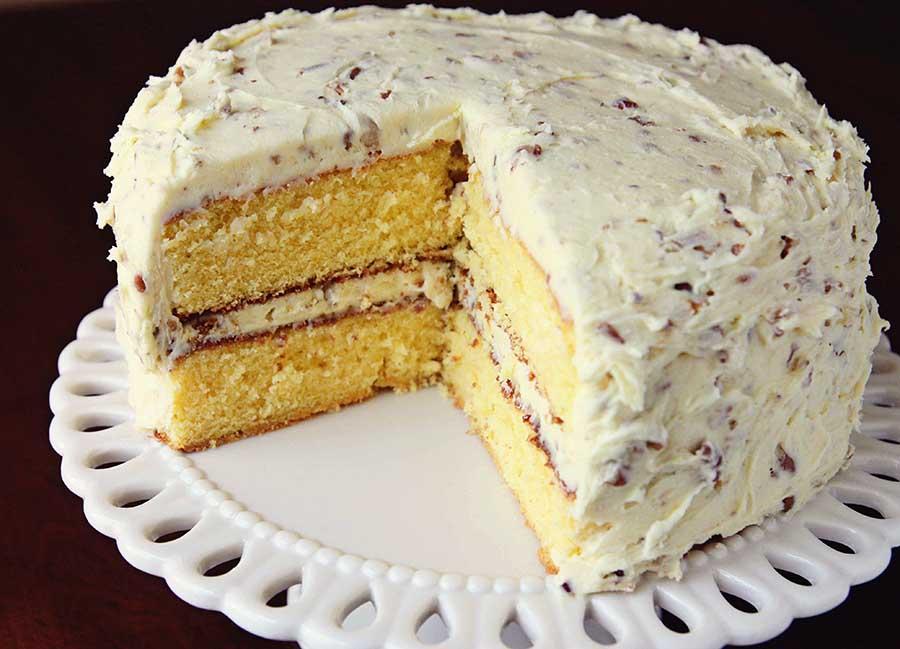 Butternut Cream Cheese Pound Cake