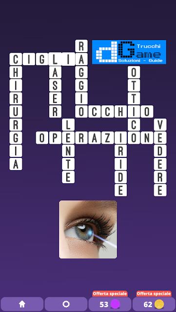 Soluzioni One Clue Crossword livello 25 schemi 10 (Cruciverba illustrato)  | Parole e foto