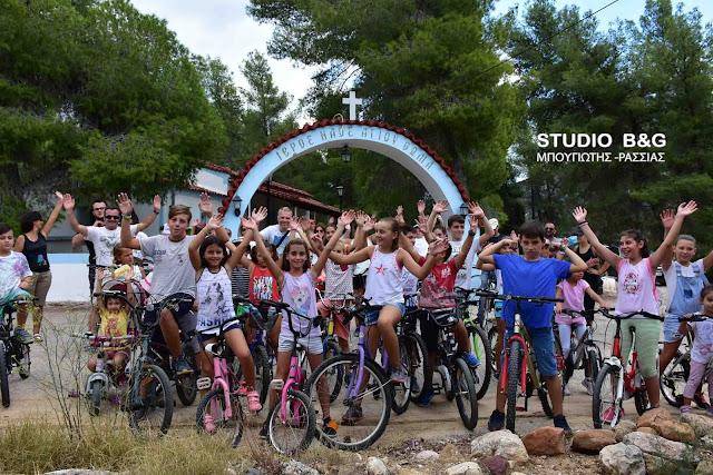 Με μεγάλη συμμετοχή η 5η ποδηλατάδα στα Πυργιώτικα Ναυπλίου (βίντεο)