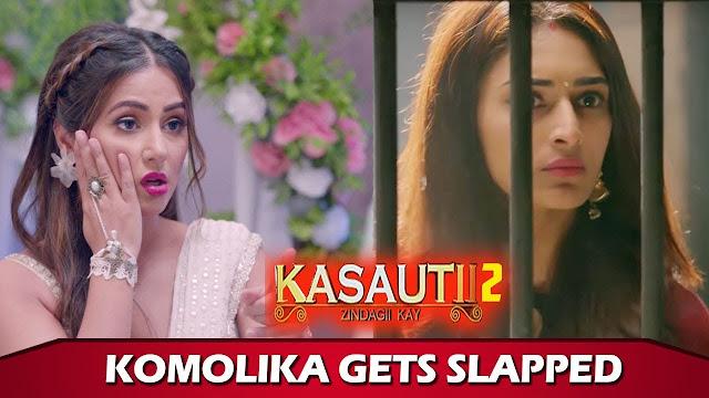OH NO! Anurag slaps Komolika hard for romancing him in Kasautii Zindagii Kay 2