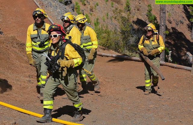 Conato de incendio esta tarde en Breña Alta