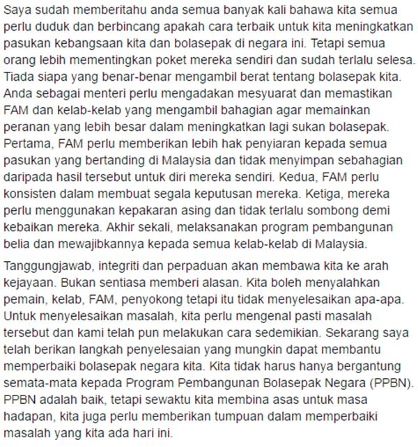 KECOH! TMJ Bidas Kenyataan Khairy Jamaluddin Mengenai Kedudukan Ranking Bola Sepak Negara