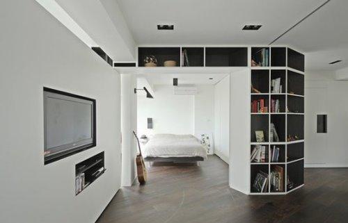 ialah sebuah layar atau juga sanggup memanfaatkan  Rancangan Desain Pembatas Ruangan Minimalis