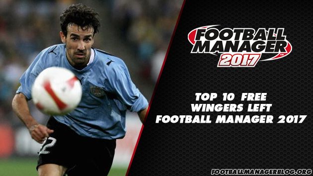 Top 10 Free Wingers Left in Football Manager 2017