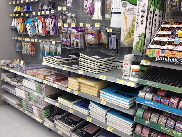 Walmart Arts and Crafts Supplies