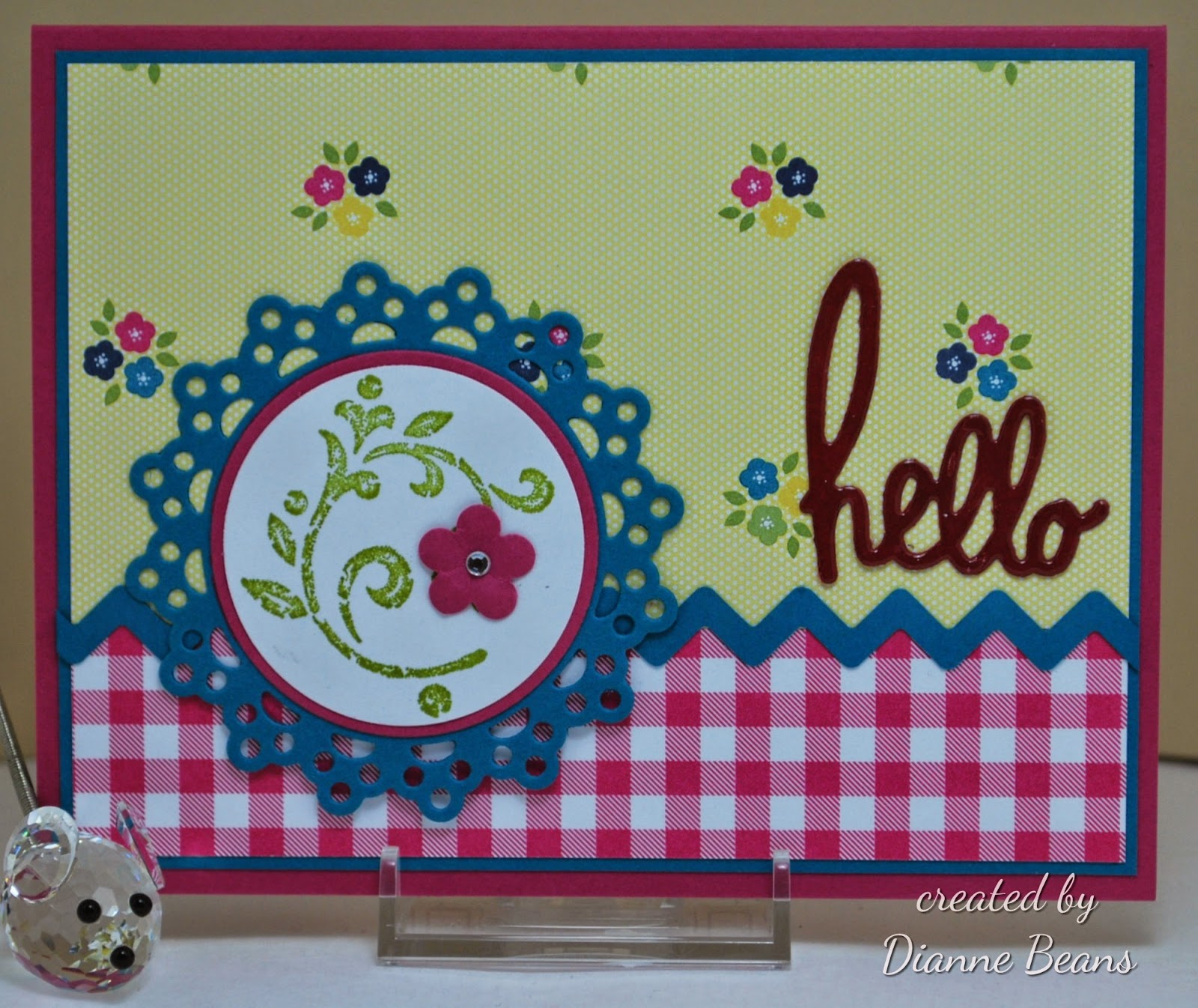 Stamping And Quilting From The Heart: Paper Players