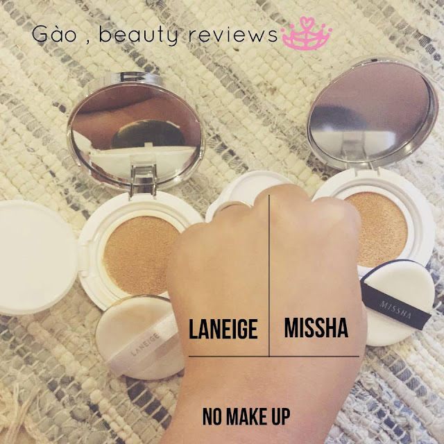 bb cream, bb cushion, spf 50, missha magic cushion, laneige bb cushion, gào, làm đẹp