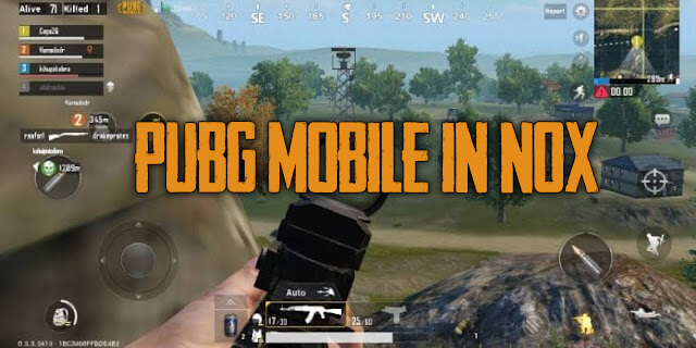 How to set PUBG Mobile in NOX so it doesn't lag