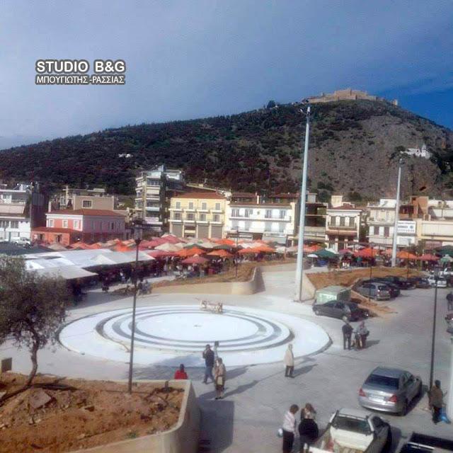 Επέστρεψε η λαϊκή αγορά στην πλατεία Δημοκρατίας στο Άργος