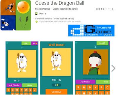 Soluzioni Guess the Dragon Ball | Tutti i livelli risolti con screenshot soluzione